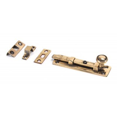 "Polished Bronze 4"" Universal Knob Bolt"
