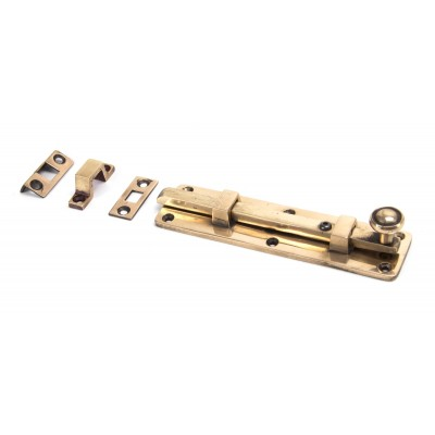 "Polished Bronze 6"" Universal Knob Bolt"