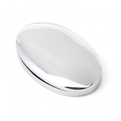 Polished Chrome Oval Escutcheon & Cover