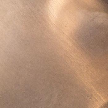 polished bronze